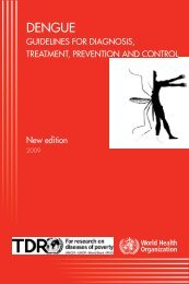 Dengue Management guidelines 2009