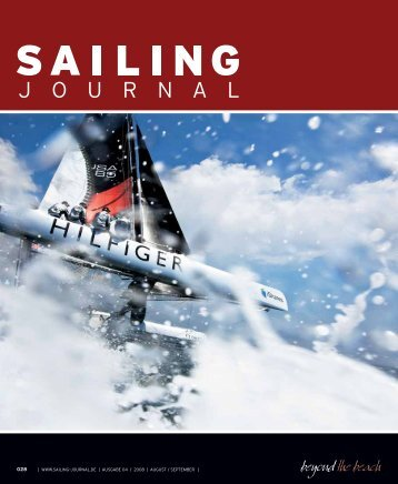 www.sailing–journal.de | ausgabe 04 / 2008 | august / september