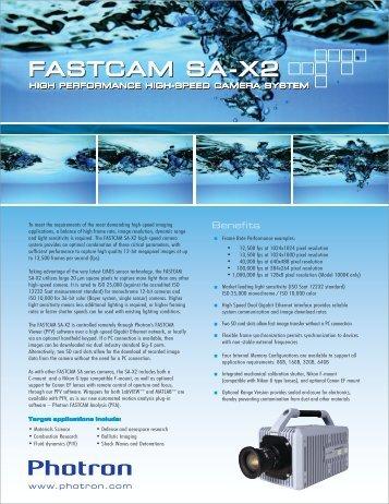 fastcam sa-x2 fastcam sa-x2 - Downloads