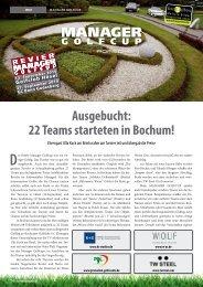 ausgebucht: 22 Teams starteten in Bochum! - all2e GmbH
