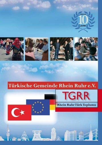 Türkische Gemeinde Rhein Ruhr e. V. - TGRR