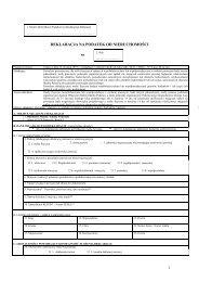 deklaracja na podatek od nieruchomości 1 - urząd miasta i gminy