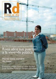 rd nº 32 marzo 2005 pdf - Ayuntamiento Rivas Vaciamadrid