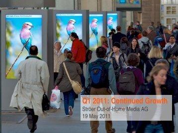 Q1 2011 - EquityStory AG