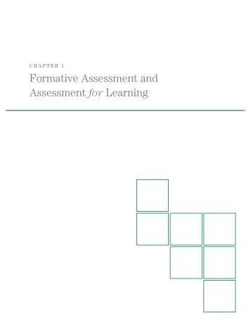 Pre trai chapter 1 formative assessment and assessment for learning fandeluxe Choice Image