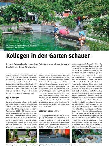Kollegen in den Garten schauen (PDF) - Georg von Koppen