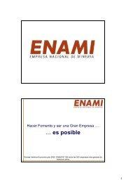 Hacer Fomento y ser una Gran Empresa es posible - Sonami