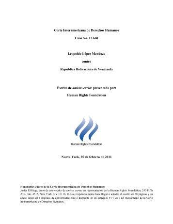 Amicus Curiae Caso 12.668_ HRF