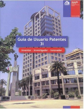 Guía de Usuario Patentes 3i - Inapi