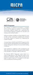 12th MICPA Accountancy Week - The Malaysian Institute Of Certified ... - Page 5