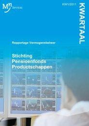 Stichting Pensioenfonds Productschappen - PFP