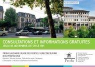 Consultations et informations gratuites - Pro Familia Vaud