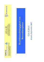 Referat Dr. med. C. Caflisch
