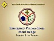 Emergency Preparedness - I Will Prepare