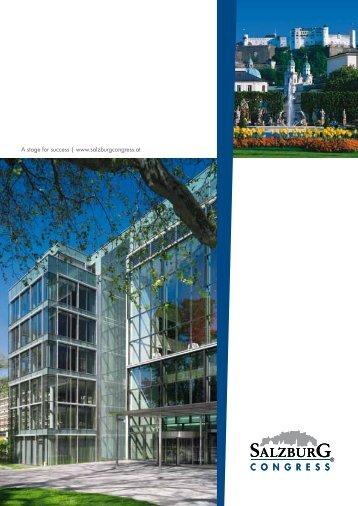 Brochure - Salzburg Congress