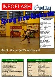 Infoflash Januar 2010 - Handballclub Goldau