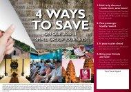4 ways to save