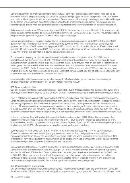 Årsberetning 2009.pdf - Ringsaker kommune