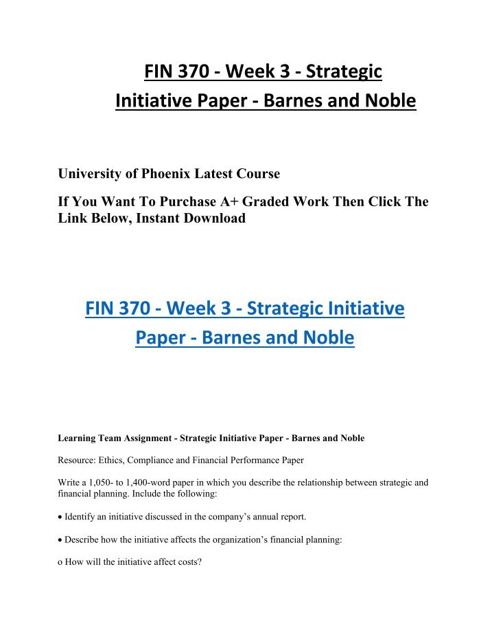 fin370 week 2 team essay Purpose of assignment students should be able to calculate time value of money problems including solving for present value, future value, rate and payment, determine the value and yield of corporate bonds.