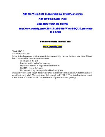 ABS 415 Week 3 DQ 2 Leadership in a Crisis.pdf