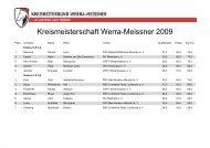 Kreismeisterschaft Werra-Meissner 2009 - Kreisreiterbund Werra ...