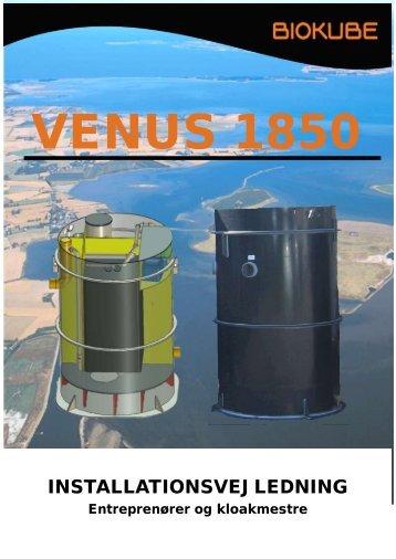 Venus 1850 Installationsvejl