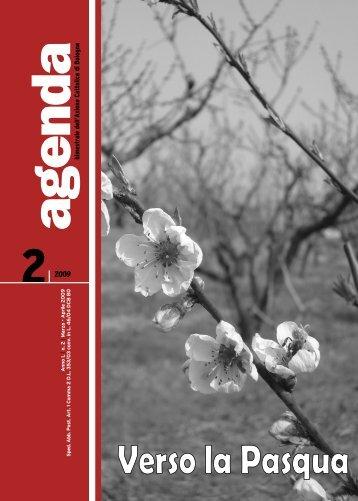 Agenda Marzo - Aprile in pdf - Azione Cattolica Bologna
