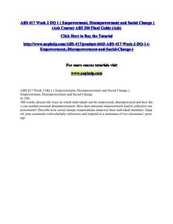 ABS 417 Week 2 DQ 1.pdf