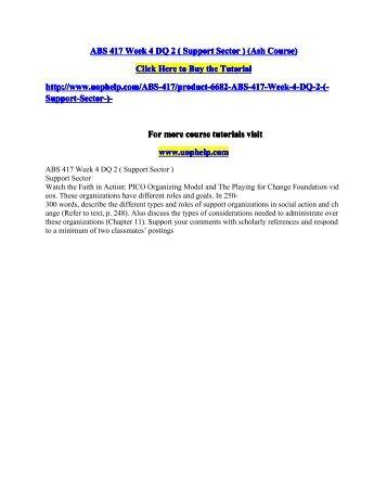 ABS 417 Week 4 DQ 2.pdf