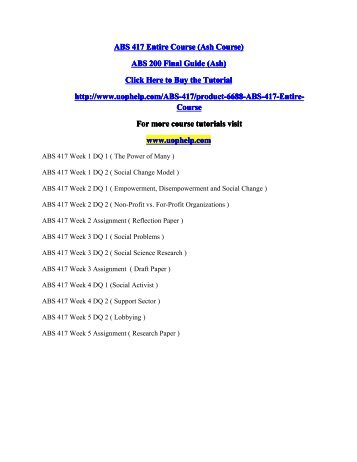 ABS 417 Entire Course.pdf