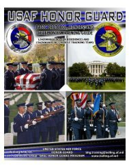 United States Air Force Honor Guard