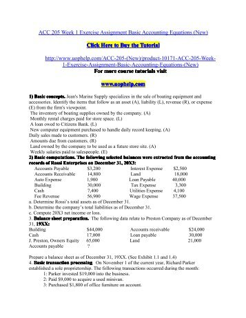 five basic accounts Accounting basics (quiz) print pdf  it not only provides all the essential material to succeed in learning accounting and finance, but also explains all the.
