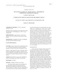 THE GENTRY GALLERY, INC., Plaintiff-Appellant, v. THE