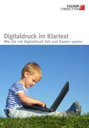 Digitaldruck im Klartext