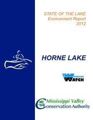 HORNE LAKE - Mississippi Valley Conservation