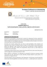 Ministero del Lavoro, e delle Politiche Sociali - Destinazione Europa