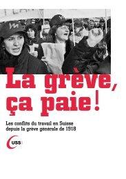 La grève, ça paie! - SSP - Vaud / Syndicat des services publics
