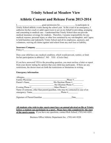 Pre-Participation Physical Form - Carleton University Sports