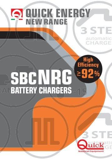 1 gennaio - Rev. 02 Carica batterie Serie SBC NRG - Quick® SpA