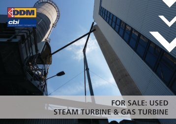 for sale: used steam turbine & gas turbine - CBI industrial asset ...