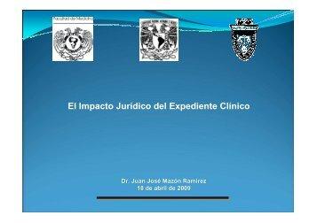 EXPEDIENTE CLINICO FACULTAD DE DERECHO - Reposital