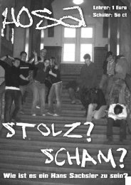 Polenaustausch - Hans-Sachs-Gymnasium