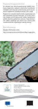 ES medienos reglamentas bus pradėtas taikyti nuo ... - EU Bookshop - Page 4
