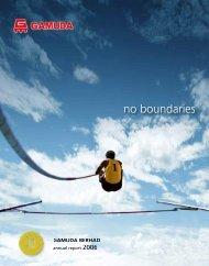 Annual Report 2006 - Gamuda Berhad - Investor Relations