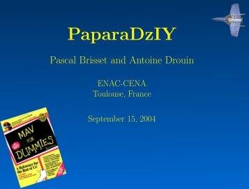 PaparaDziY : mini-drone low cost - eroMAV - Free