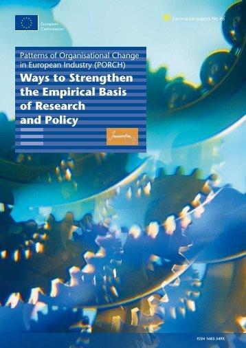 Patterns of organisational change in European Industry.pdf
