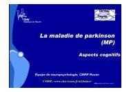 3-Cognitif et MPI-site [Mode de compatibilité] - CHU de Rouen
