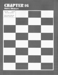 Lesson 16-1 page 238 Metric Measuring Devices Students measure ...