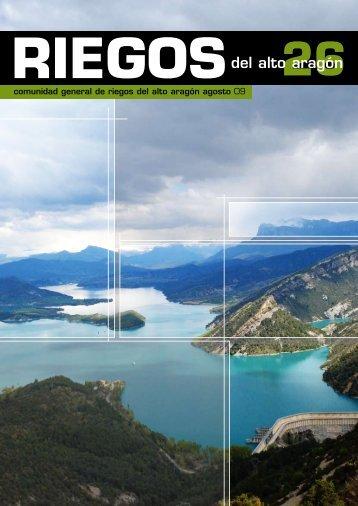 Boletín Informativo nº 26 (Julio de 2009) - Riegos del Alto Aragón