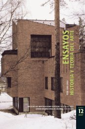 ISSN 1692-3502 - Instituto de Investigaciones Estéticas